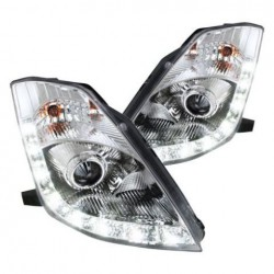 Fari anteriori Angel eyes led V2 cromo - DST-218559