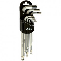 Set 9 chiavi torx - AEG-005063