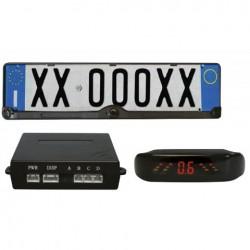 Kit porta targa con sensori di parcheggio Step1 - COR-RP101