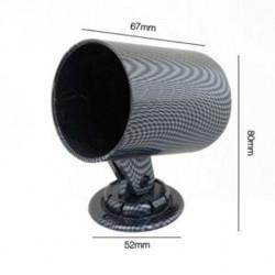 Porta strumento 1x ø52mm carbon look da montante - SIM-PSR5C