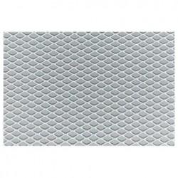 Griglia a maglia stretta alluminio nero 125x20cm - SIM-GSA/7N