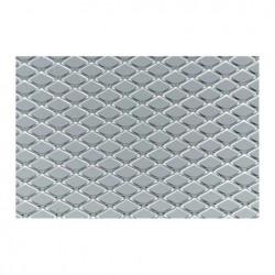Griglia a maglia Media alluminio 125x30cm - SIM-GSA/18