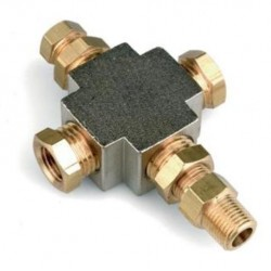 Raccordo per 3 sensori - SIM-T4