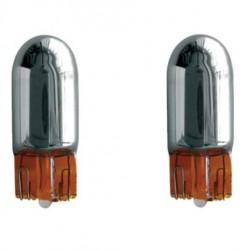 Lampadine T10 Super Shock Chrome arancioni - SIM-SS/T10-O